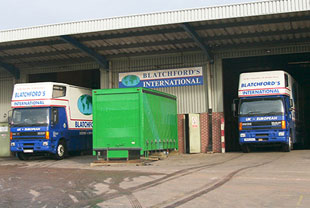 commercial storage Devon